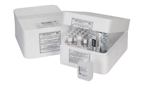 Bộ thuốc thử phân tích Nitơ tổng, thang đo thấp, ống TNT