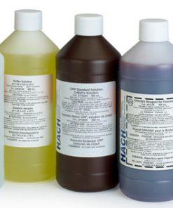 Thuốc thử Alkaline Iodide Reagent 500 mL của Hach dùng để xác định oxy hòa tan theo phương pháp Winkler, APHA