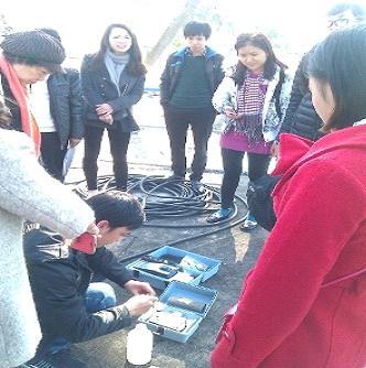 """Khóa tập huấn """"Nâng cao năng lực kiểm soát chất lượng nước và thực hiện kế hoạch cấp nước an toàn"""" tổ chức tại TP. Hải Phòng từ 15-18/12/2014"""
