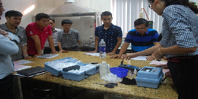 Lớp tập huấn tăng cường năng lực quản lý, giám sát chất lượng nước cho các đơn vị cấp nước Hà Nội